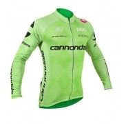 Camisa de Ciclismo Cannondale - Verde (Manga Longa)