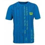 Camisa Wilson Performance II M - Azul Pool