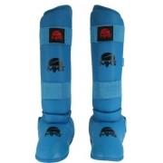 Caneleira Mks Com Proteção do Pé  - Azul