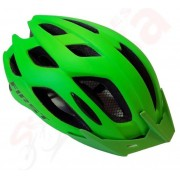 Capacete Ciclismo Bike  First Fluig 52 ao 57  -  Verde Fosco