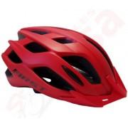 Capacete Ciclismo Bike  First Fluig 52 ao 57  -  Vermelho  Fosco