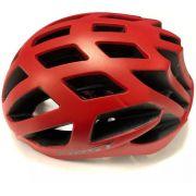Capacete Ciclismo Bike First - Vermelho