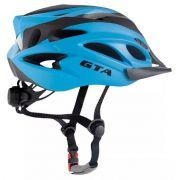 Capacete Ciclismo Bike  Gta - Azul/Preto