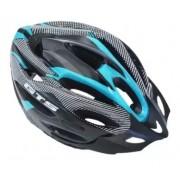 Capacete Ciclismo Bike  MTB GTS  52 ao 60 - Preto/Tiffany