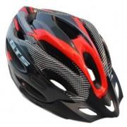 Capacete Ciclismo Bike  MTB GTS  52 ao 60 - Preto/Vermelho