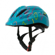 Capacete Ciclismo Infantil Tsw Mtb Kids Led Traseiro In Mold Tamanho P 48/53 cm
