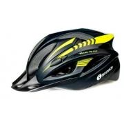 Capacete Shiver Bike Mtb - Preto/Amarelo Neon