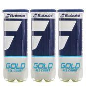 Bola de Tênis Babolat Gold C/ 3 tubos