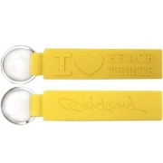 Chaveiro Quicksand Love Tarja Beach Tennis - Amarelo