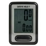 Ciclocomputador Cateye C Vl520 Velo 7 - Preto