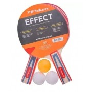 Conjunto de Raquete de Tênis de Mesa Effect Poker - 09019