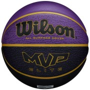 Bola De Basquete Wilson MVP Elite Fúcsia e Preto