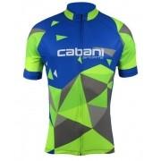 Camisa de Ciclismo Cabani Aritima - Azul/Verde (Manga Curta)