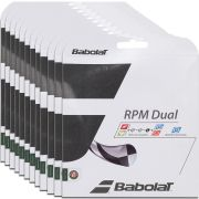Corda Babolat Rpm Dual 16 1.30mm 11.75m - Pack C/ 12 Sets