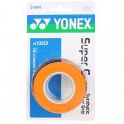 Overgrip Yonex Super Grap c/ 3 unidades - Laranja