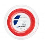 Corda Babolat RPM Blast Rough 1.30 16 Rolo 200 Metros - Vermelho e Fluor