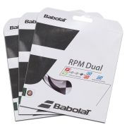 Corda Babolat Rpm Dual 16 1.30mm 11.75m - Pack C/ 3 Sets