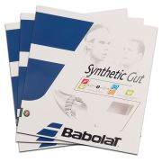 Corda Babolat Synthetic Gut 16 1.30 mm 11,75m Natural - Pack C/ 3 Sets