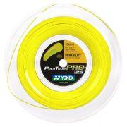 Corda Yonex Poly Tour Pro 16L 1.25mm Amarelo - Rolo com 200 Metros