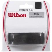 Cushion Grip Wilson Feather Thin Feel - Preto