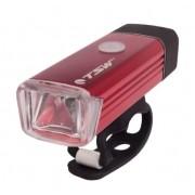 Farol c/ Carregador USB TSW - Vermelho