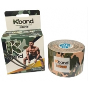 Fita Kband Bandagem Elástica Adesiva Rolo 5cm x 5m - Camuflada Clara