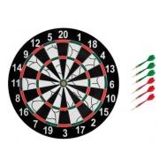 Jogo de Dardo Fort Tamanho 12  Com 6 dardos