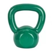 Kettlebell Emborrachado Fundido 10 kg - Verde