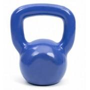 Kettlebell Emborrachado Fundido Azul - 4 kg