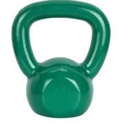 Kettlebell Emborrachado Fundido 4 kg - Verde