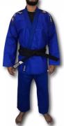 Kimono Torah Reforçado Flex Jiu Jitsu  A4 - Azul