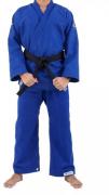 Kimono Torah Reforçado Plus  Jiu Jitsu  A4 - Azul