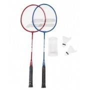 Kit Badminton Babolat Leisure  Com 2 Raquetes 2 Petecas