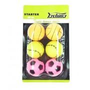 Kit Com 6 Bolinhas de Tênis de Mesa Starter 40mm Yashima