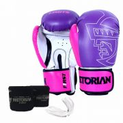 Kit de Boxe/ Muay Thay Pretorian First Rosa