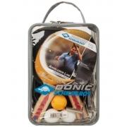 Kit de Raquete De Tênis de Mesa Donic Appelgren 2 Player Set c/ Suporte e Rede