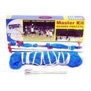 Kit Peteca Praia Campo Master rede