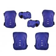Kit Proteção Bel Sports Infantil - Azul