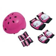 Kit Proteção Bel Sports - Rosa