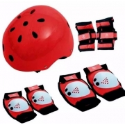 Kit Proteção Bel Sports - Vermelho