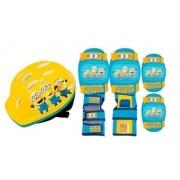 Kit Proteção Minions Iniciante - Amarelo/Azul