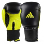 Luva de Boxe Adidas Power 100 - Preto/Verde