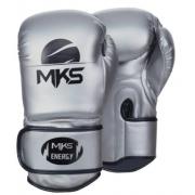Luva de Boxe MKS Energy - Prateada