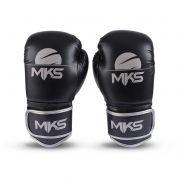 Luva de Boxe MKS Energy Preta/Cinza