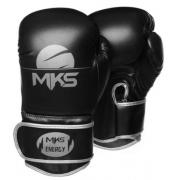 Luva de Boxe MKS Energy Preto/Prata