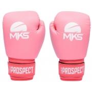 Luva de Boxe MKS New Prospect - Rosa
