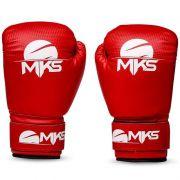 Luva de Boxe MKS Vermelha