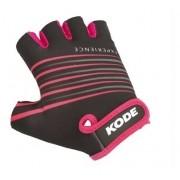 Luva de Ciclista Kode Experience Preto/Pink  - 14447