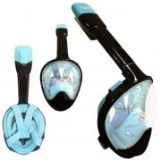 Máscara de Mergulho Hydro Full Face - Azul