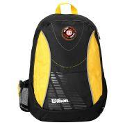 Mochila Wilson Esp WTIX12255D - Preto e Amarelo
